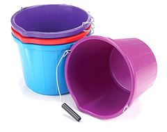 Mould Flex Stable Bucket (14 litre, Red)