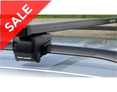 CRB2 Classic Roof Bars for Rails