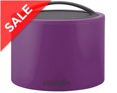 Bento Lunch Box (0.6L), Purple
