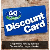 GO Outdoors Discount Card (£5 a Year)