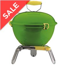 Piccolino Portable Charcoal Barbecue (Lime)