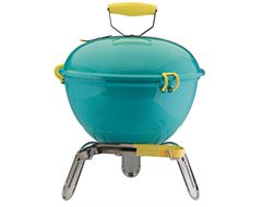 Piccolino Portable Charcoal Barbecue (Turquoise)