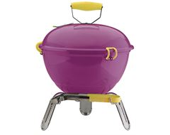 Piccolino Portable Charcoal Barbecue (Lavender)