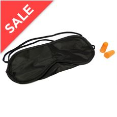 Travel Eyeshade and Earplugs