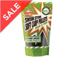 Swim Stim Betaine Green Sinking Soft Carp Pellets 6mm, 500g