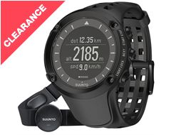 Ambit Black (HR) Watch with GPS and Heart Rate Monitor