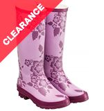 Floral Patterned Women's Wellies