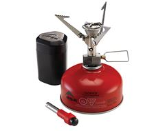 MicroRocket Backpacking Stove