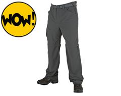 Lonscale Men's Zip-Off Pant