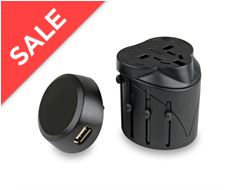 Universal Travel Adaptor with USB