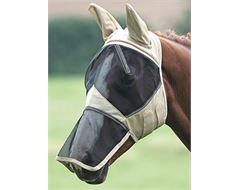 Fine Mesh Fly Veil / Mask with Ears and Nose Extension