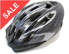 Infusion Cycling Helmet (Carbon/Silver)
