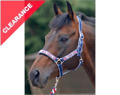 Union Jack Headcollar and Lead Rope