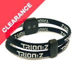 Dual Loop Magnetic Ionic Wristband (Black)