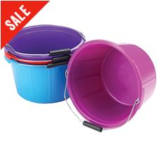 Mould Flex Feed Bucket (20 Litre, Red)