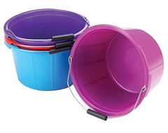 Mould Flex Feed Bucket (20 Litre, Purple)