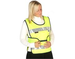 Adjustable Hi-Vis Child's Tabard