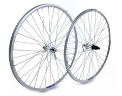 Quick Release Rear Wheel 700C Alloy 240 Silver 8/9 speed