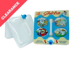 'Ghirba' Folding Water Container (15 litre)