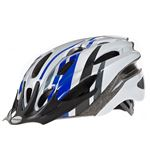 Mission Cycling Helmet (Blue/Silver)
