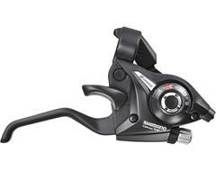 STI Altus 7 Speed set Pair Black