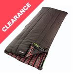 Camper (Brown Stripe) Sleeping Bag