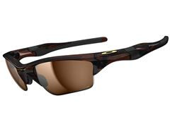 Polarised Half Jacket 2.0 XL Sunglasses (Polished Rootbeer/Bronze)