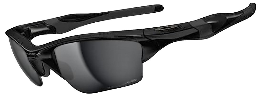 oakley black glasses  Oakley Polarised Half Jacket 2.0 XL Sunglasses (Polished Black ...