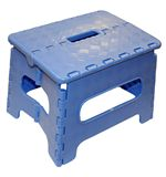Folding Plastic Step (Blue)