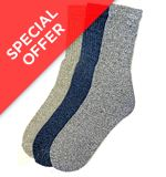 GO Walking Socks, Large (3 Pairs)