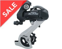 Rear Derailleur M410 SGS Black 7/8 speed
