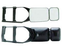Traveller Clamp on Towing Mirror (Twin Pack)