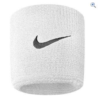 Nike Swoosh Wristband - Colour: White