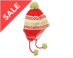 Alva Drop Ear Children's Hat