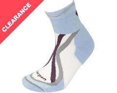 Women's Trilayer Trail Running Light Socks