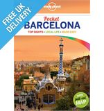 'Pocket Barcelona' Guide Book with Pull-out Map