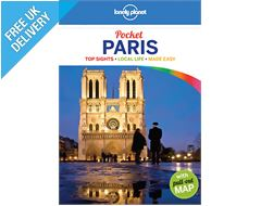 'Pocket Paris' Guide Book with Pull-out Map