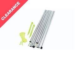 Upright Steel Pole Set (1.3 metre)