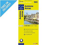 'TOP 100' Series: 103 Amiens / Arras Folded Map