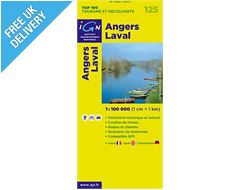 'TOP 100' Series: 125 Angers / Laval Folded Map