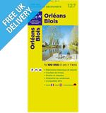 'TOP 100' Series: 127 Orleans / Blois Folded Map