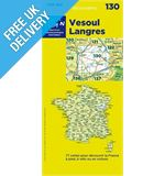 &#39;TOP 100&#39; Series: 130 Vesoul / Langres Folded Map
