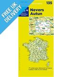 'TOP 100' Series: 135 Nevers / Autun Folded Map