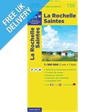'TOP 100' Series: 138 La Rochelle / Saintes Folded Map