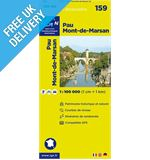 'TOP 100' Series: 159 Pau / Mont-de-Marsan Folded Ma