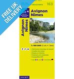 'TOP 100' Series: 163 Avignon / Nimes Folded Map