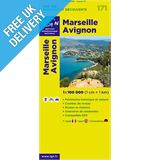 'TOP 100' Series: 171 Marseille / Avignon Folded Map