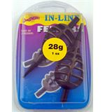Inline Feeder Bombs, pack of 2, 1oz