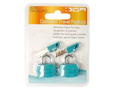 Colour Padlocks (Pack of 2)