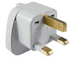 UK Plug Visitor Adaptor